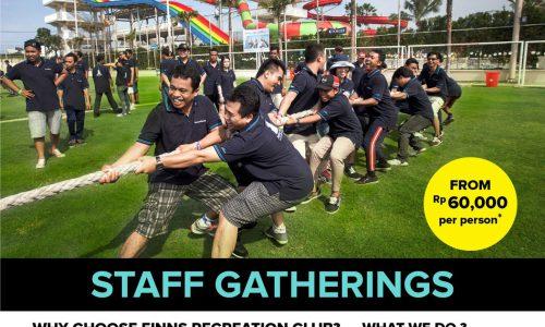 Finns Recreation Club Staff Gathering