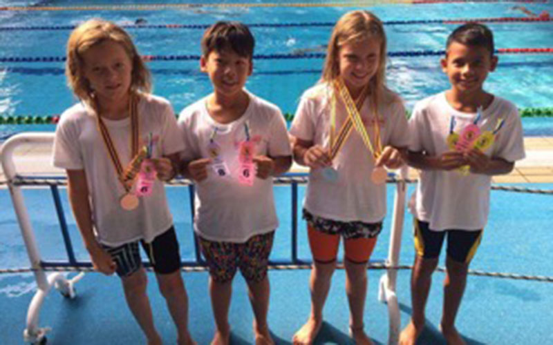 Bali Barong Swim Team Brings Home the Medals