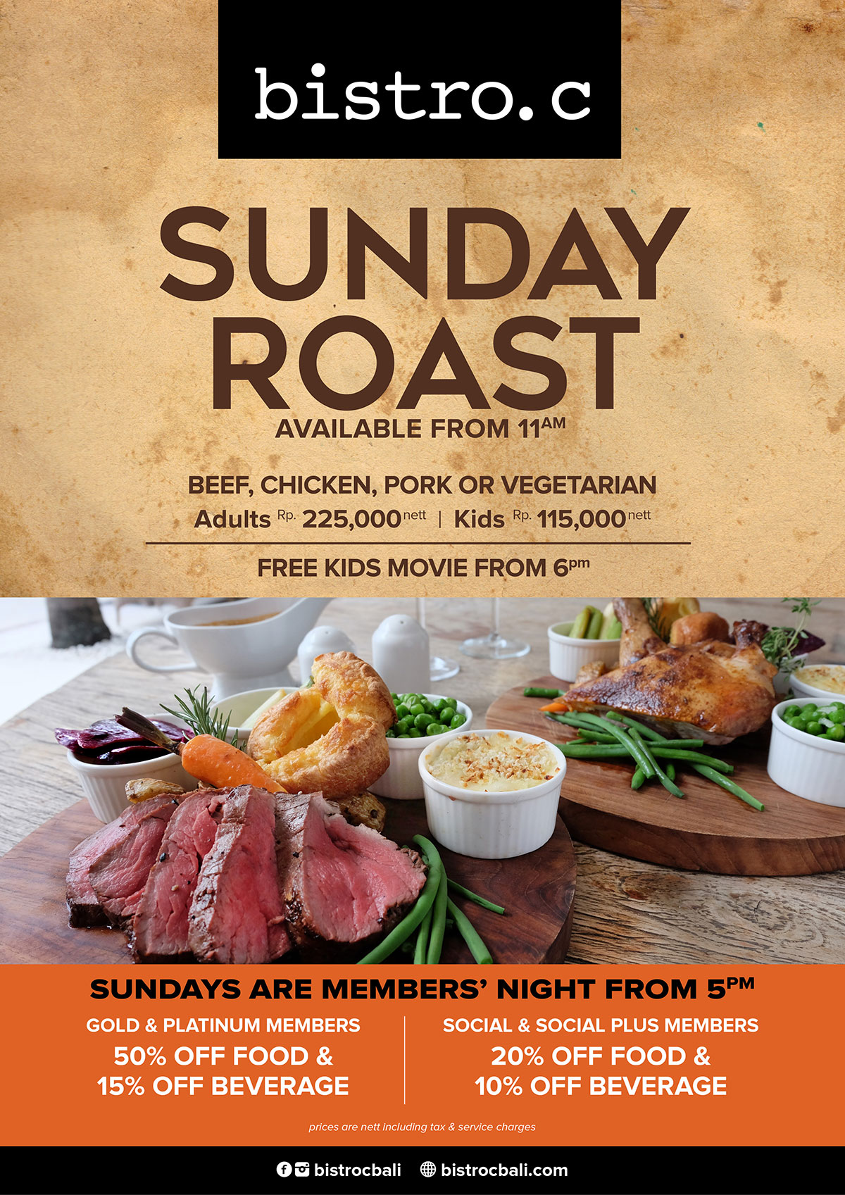 Bistro C – Sunday Roast