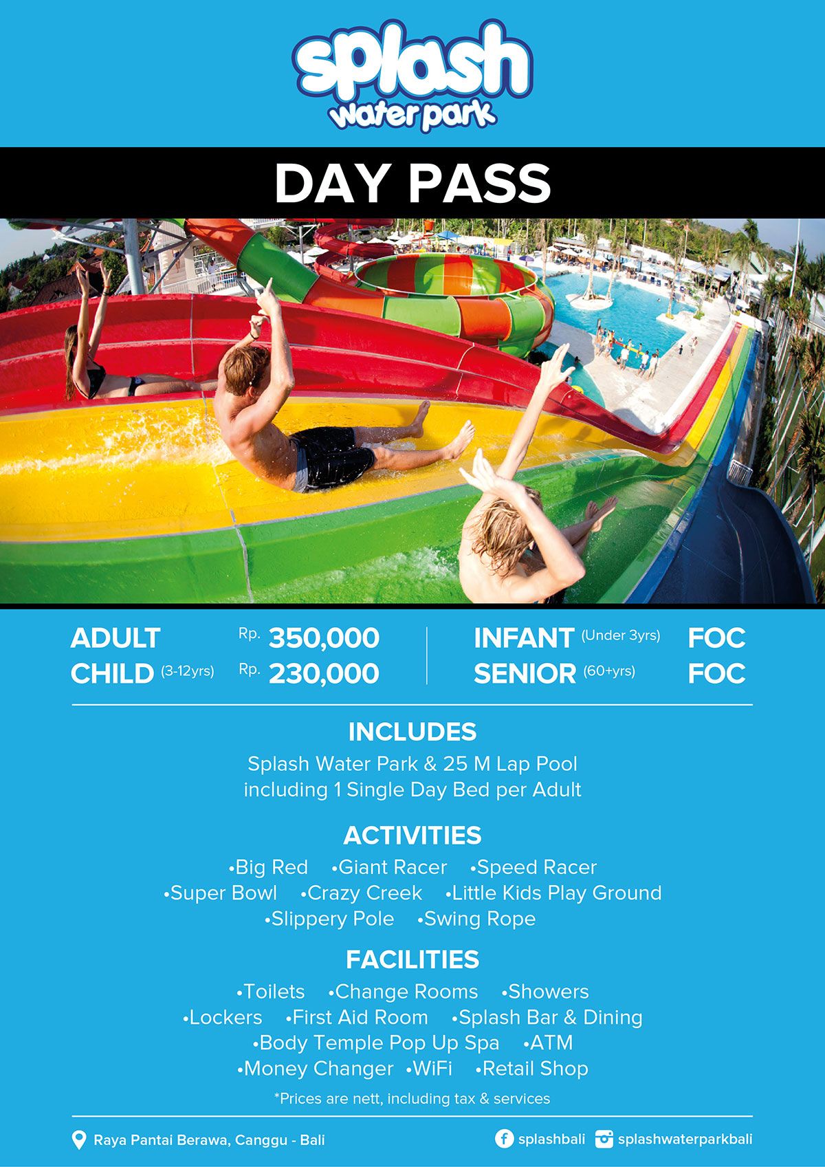 Splash Day Pass