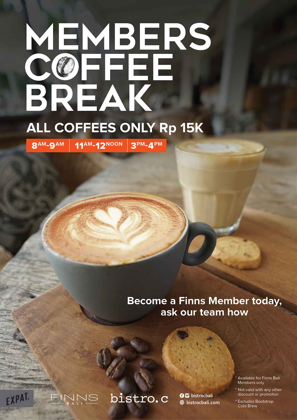 Member Coffee Break at Bistro C Smoke House Bali