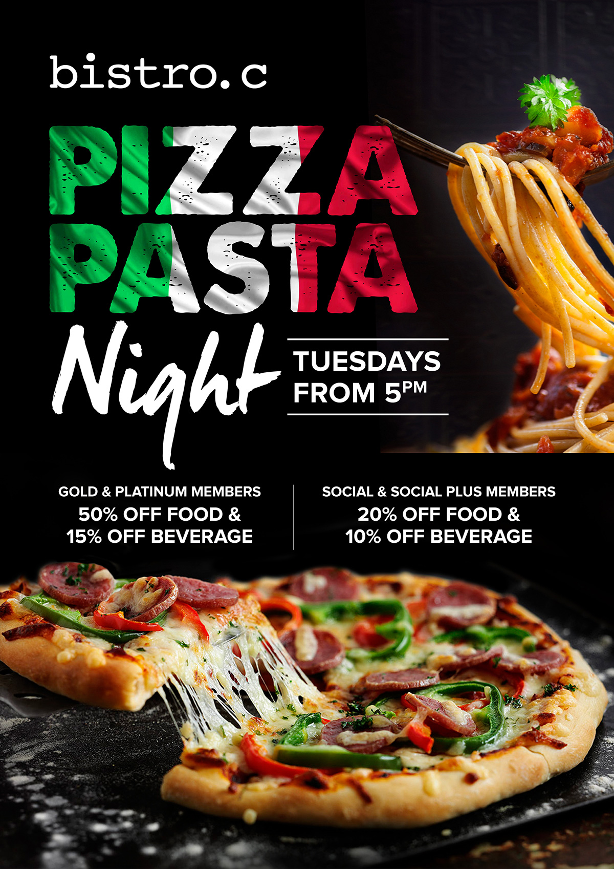 Pizza And Pasta Night