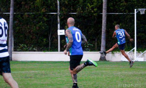 AFL Geckos Allies VS Vics Celebrity Match