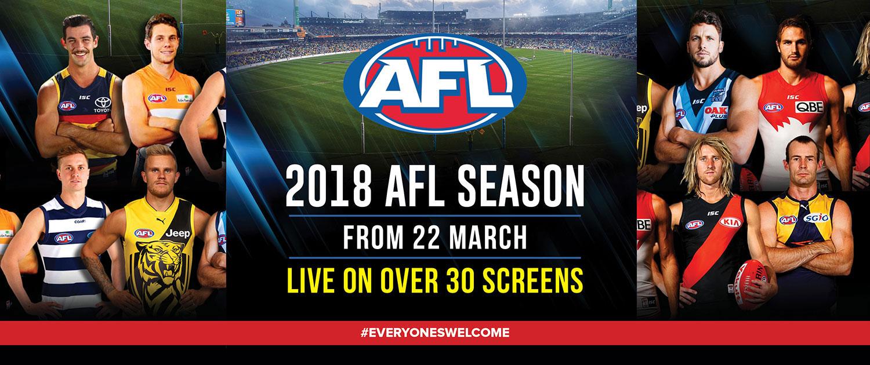AFL web banner