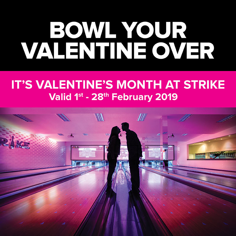 Strike it Lucky this Valentines