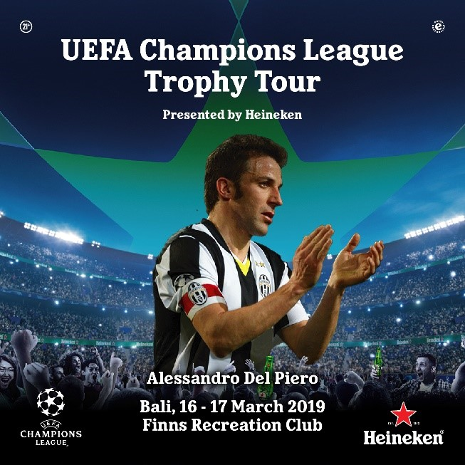 UEFA Champions League Trophy Tour presented by Heineken
