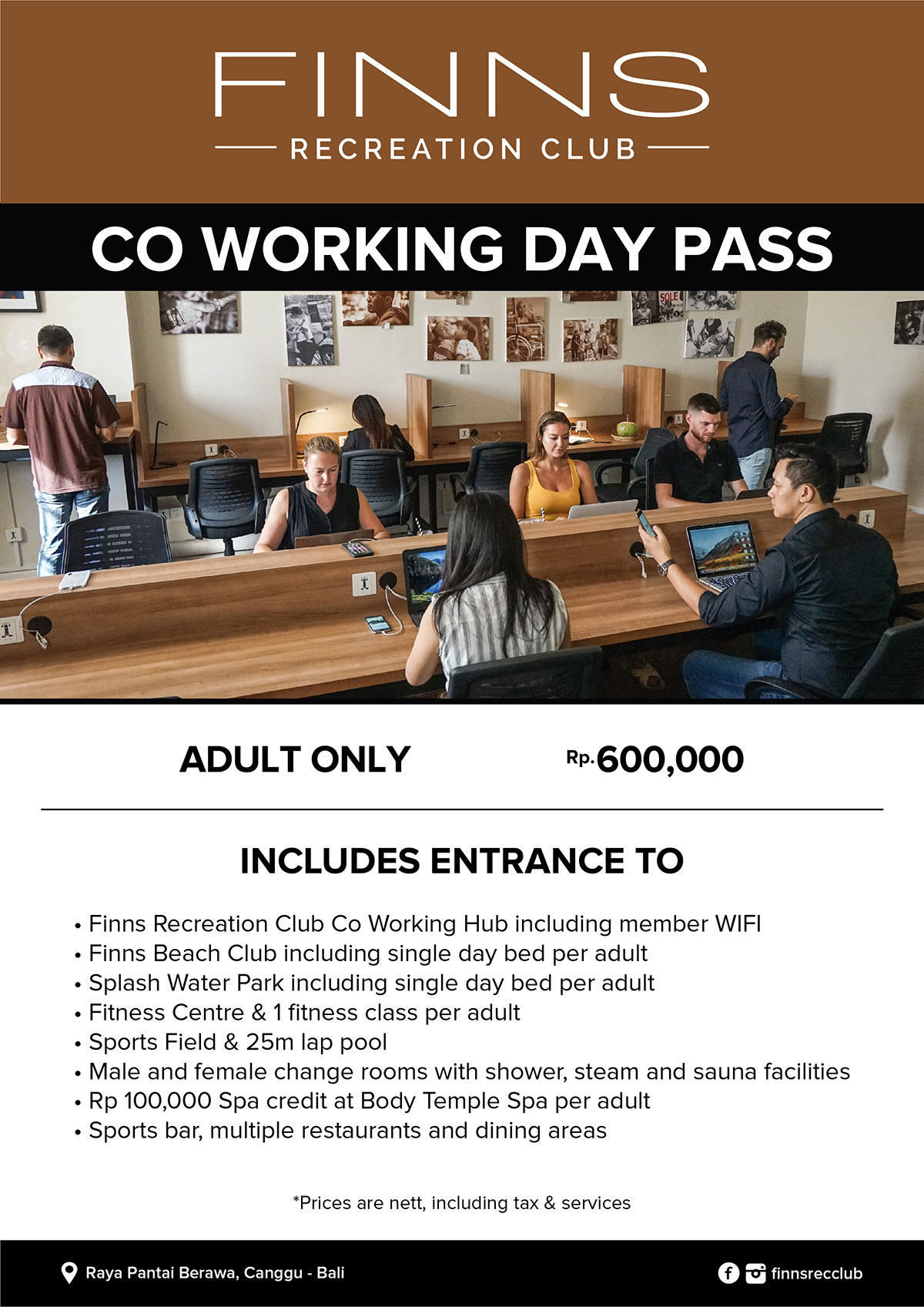 Co Working Day Pass