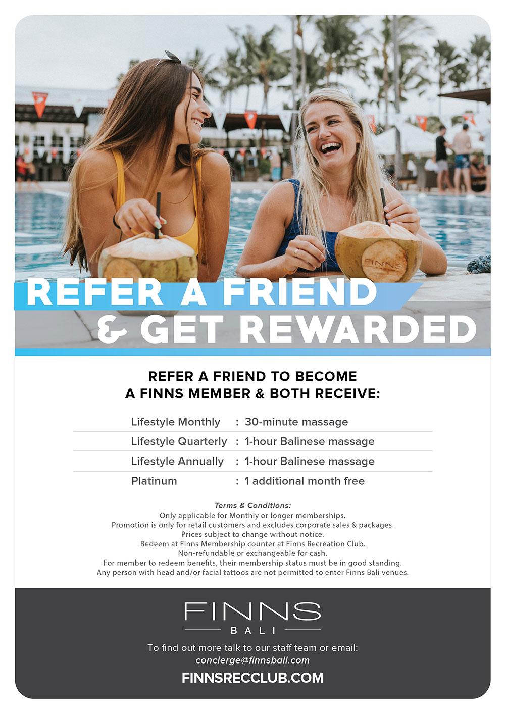Refer a Friend & Get Rewarded