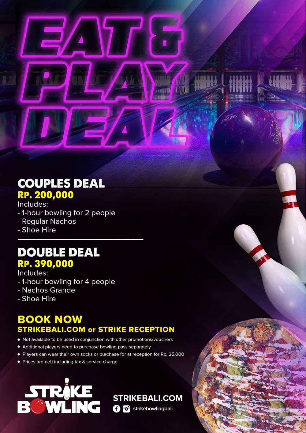 Eat and Play Deal