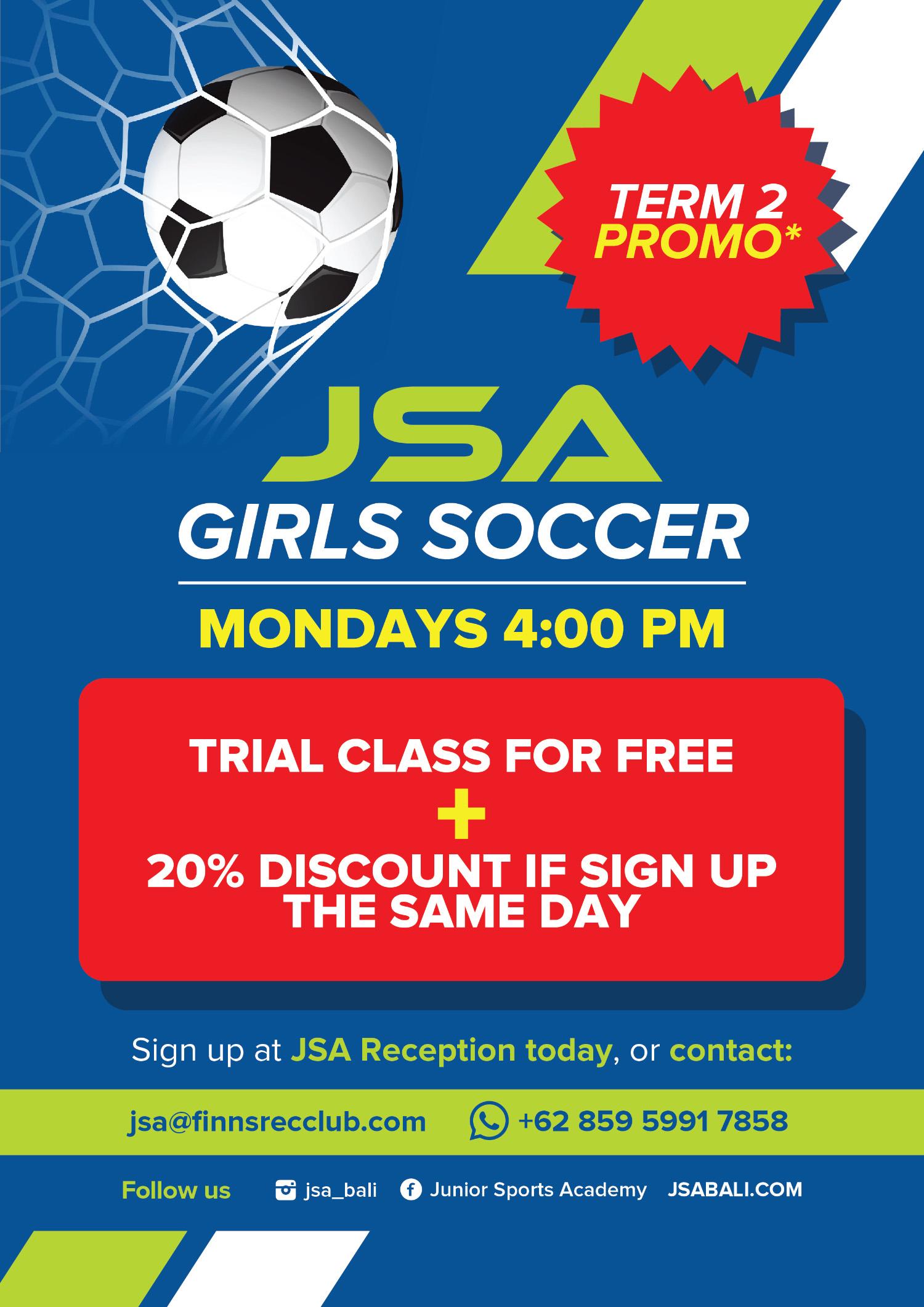 JSA Girls Soccer