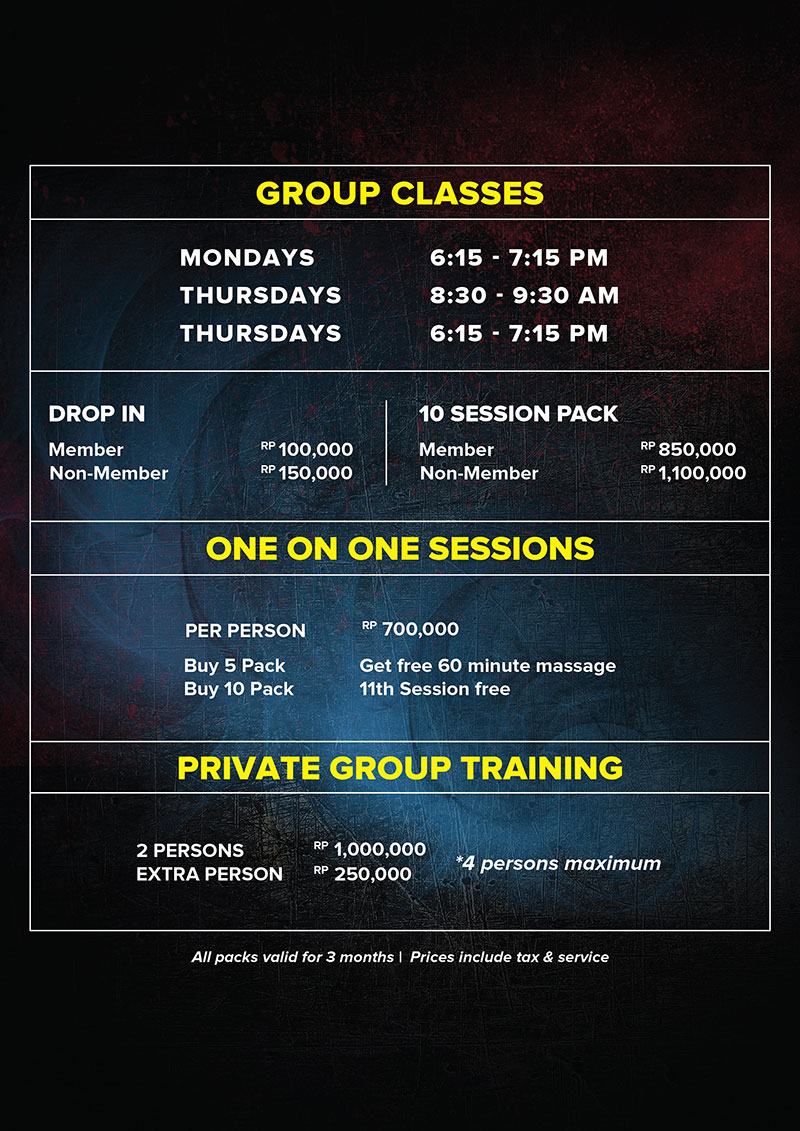 New Muay Thai Programs