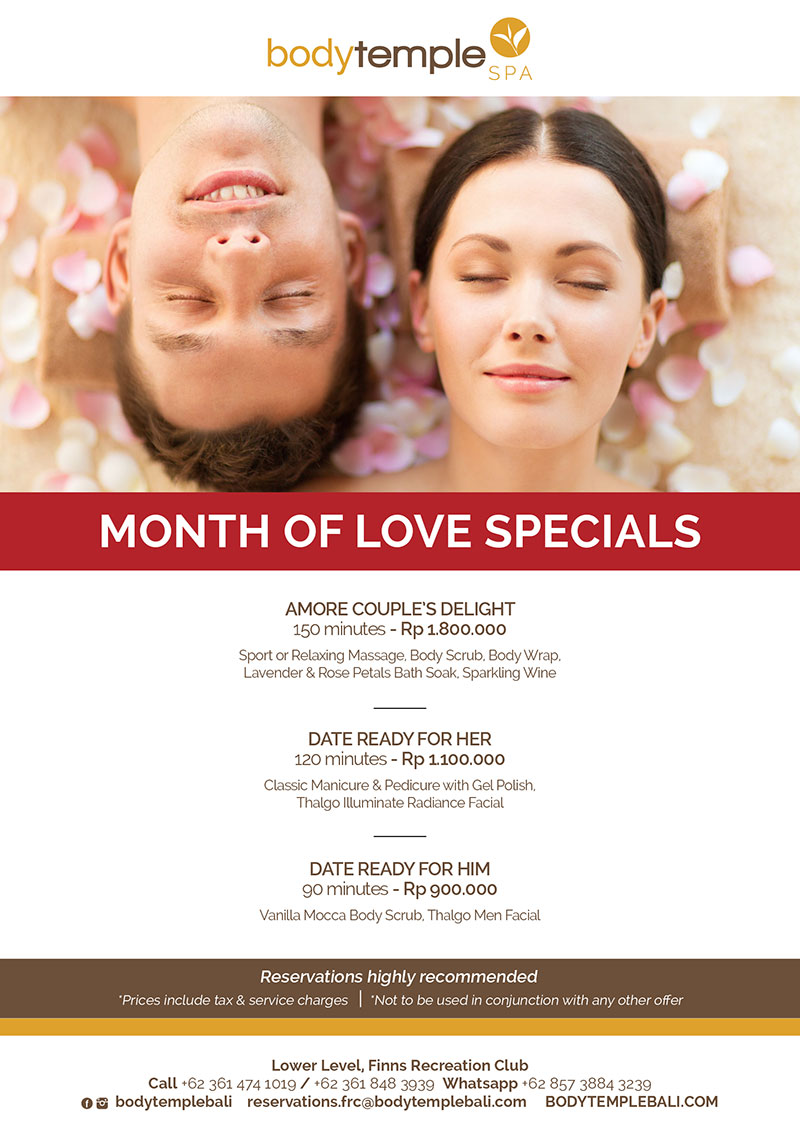 Month Of Love Specials