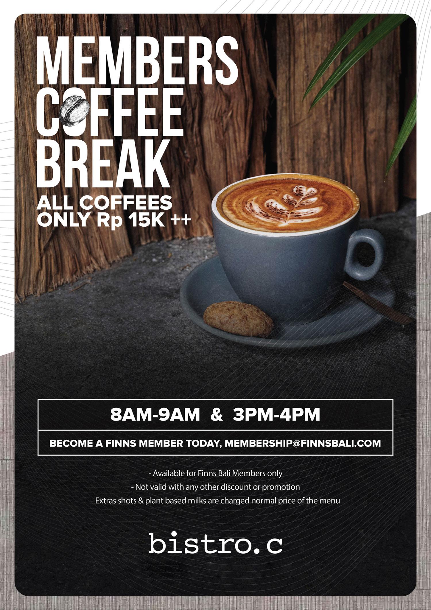 Members Coffee Break