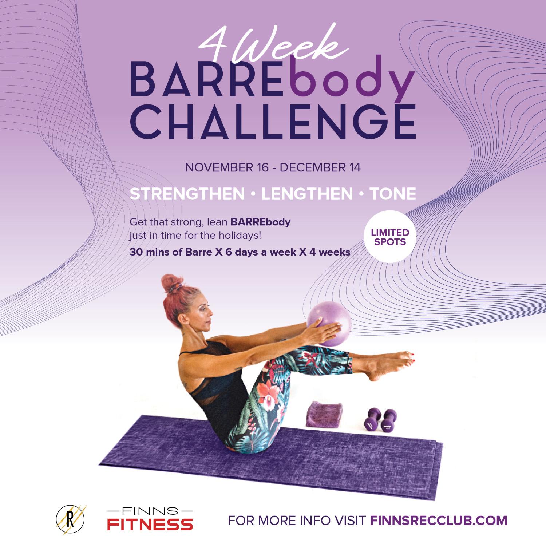 4WEEK BAREBODY CHALLENGE