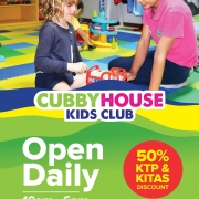 Cubbyhouse Kids Club 50% Off KTP & KITAS