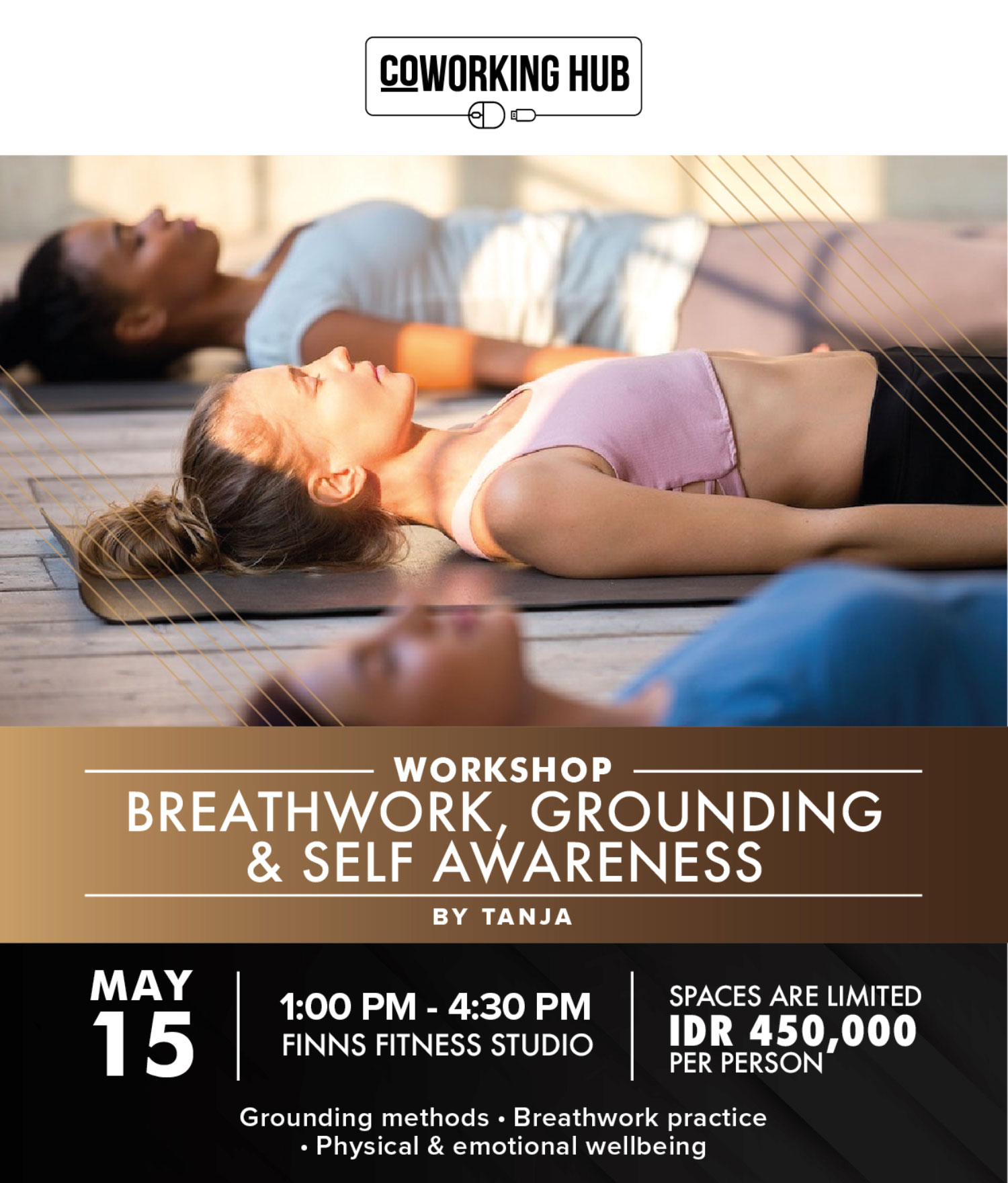Breathwork, Grounding & Self Awareness